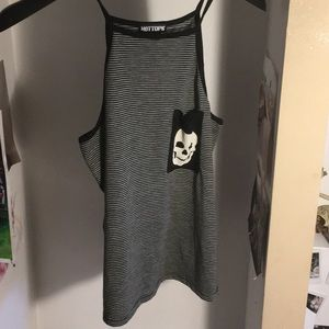 🎃3 for 20% off order ~ Striped tank top💀